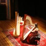 Atlantic Harp Duo at the Stoughton Opera House