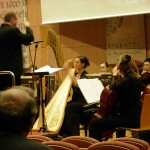 Performing the Járdányi Harp Concerto in Szeged, Hungary
